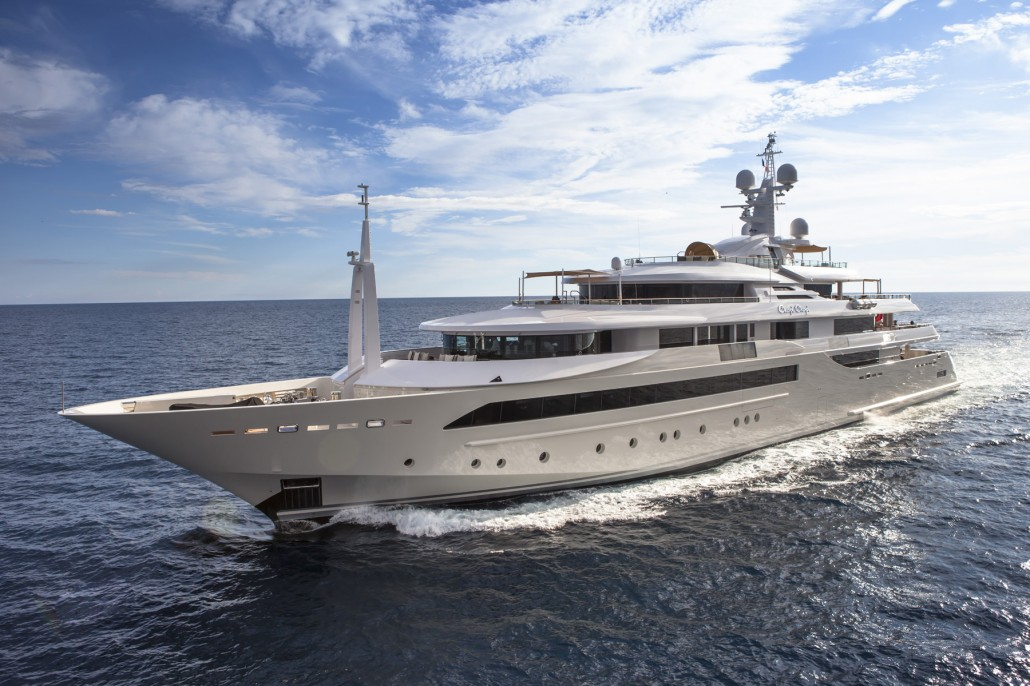 "M/Y CRN Chopi Chopi 80m wins at ""The world Superyachts ... George Marina Amsterdam"