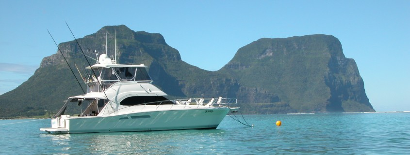 Peter and Narelle enjoyed their trip to Lord Howe Island
