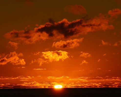 Peter and Narelle have enjoyed many sunsets together