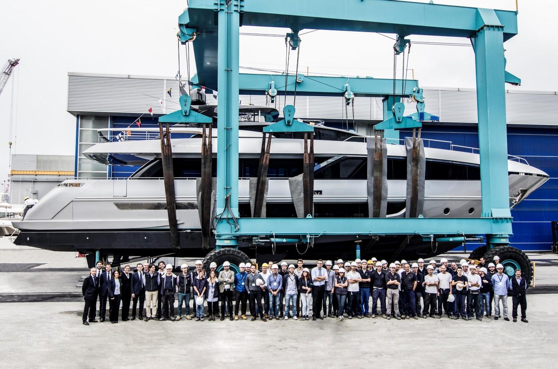 Riva 100' Corsaro Launch_1