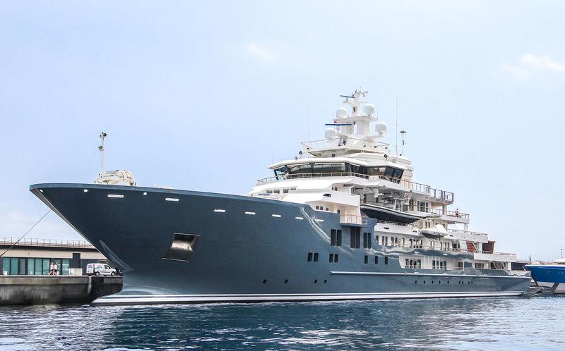 107m Explorer Superyacht Ulysses Sold Lee Marine