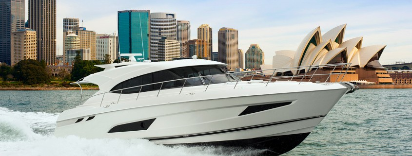 The new Riviera 5400 Sport Yacht – the spirit of excellence