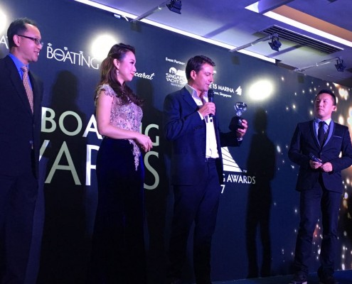 Winner - Personality of the Year - Asia Boating Awards 2017 - Lee Marine's Founder and Managing Director, Joshua Lee (3)