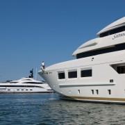 CRN Saramour 61 m and CRN Yalla 73 m at Monaco Yacht Show