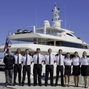 "CRN NAVETTA 43 ""LADY GENYR"", A 43 METRE MEGAYACHT HAS BEEN DELIVERED TO THE OWNER"